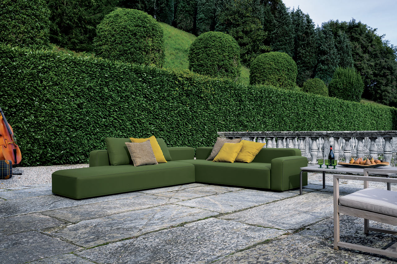 The Dandy Sofa Is A Seating System That Brings The Same Thought That Goes  Into Indoor Seating To The Outdoors. The Modular Design Can Be Arranged In  A ...