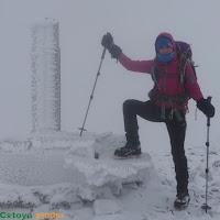 Ver ruta al Brañacaballo con nieve