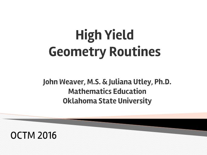 math worksheet : math u003d love octm recap high yield geometry routines : Math Poems For High School Geometry