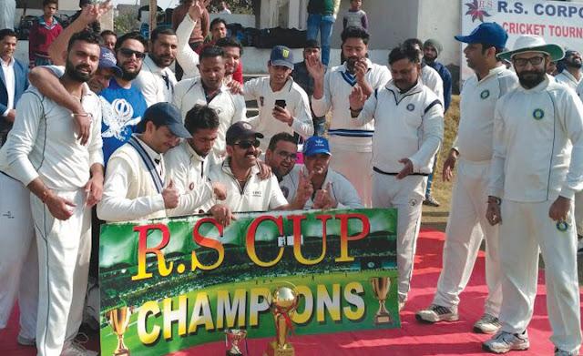 RS Gould Cup's Enliz Club wins the Final Finals