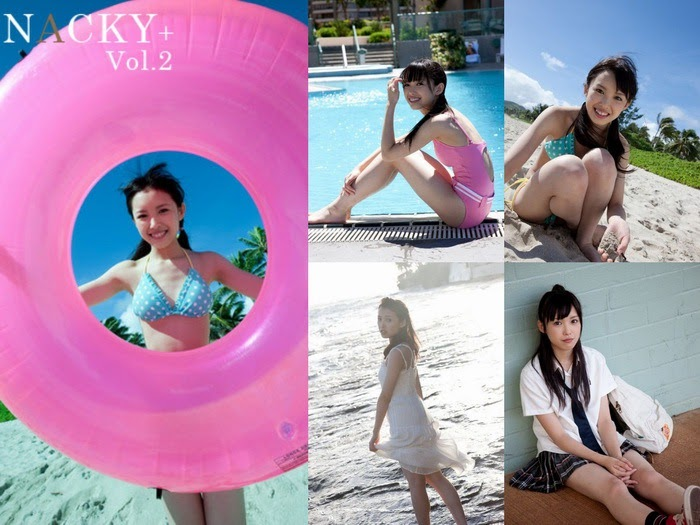 [Photobook] Saki Nakajima 中島早貴 &  NACKY+ Vol.2 photobook 09250