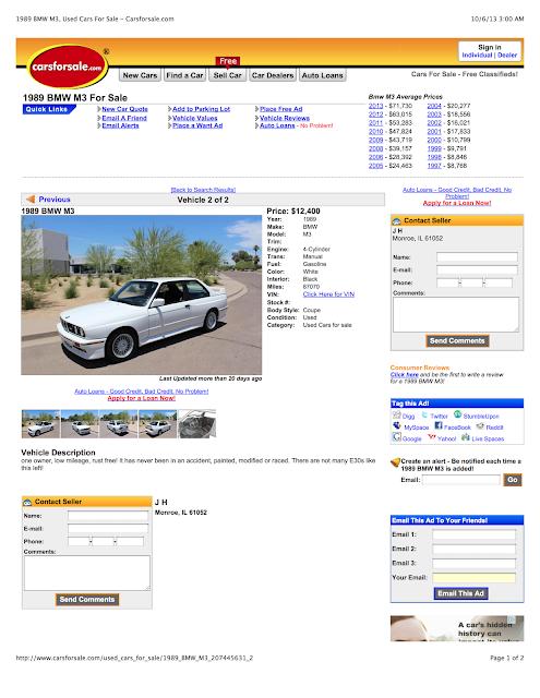 Current Craigslist Car Scams