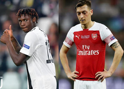 Tetesi za soka Ulaya Leo Alhamisi: Ozil, Malcom, Maguire,Alderweireld, Kean