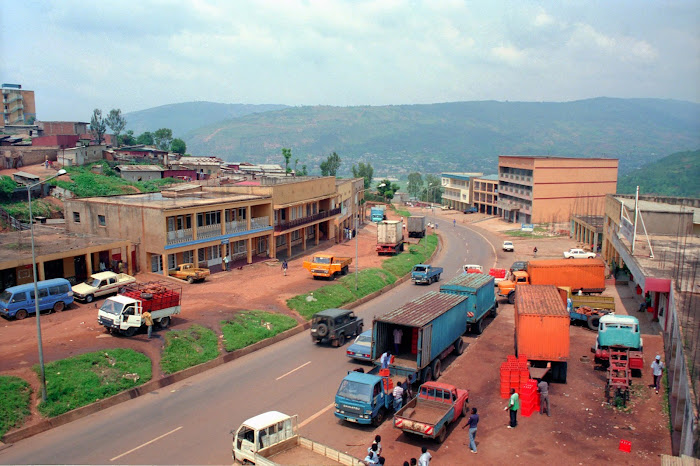 Rwanda, Kigali, © L. Gigout, 1991