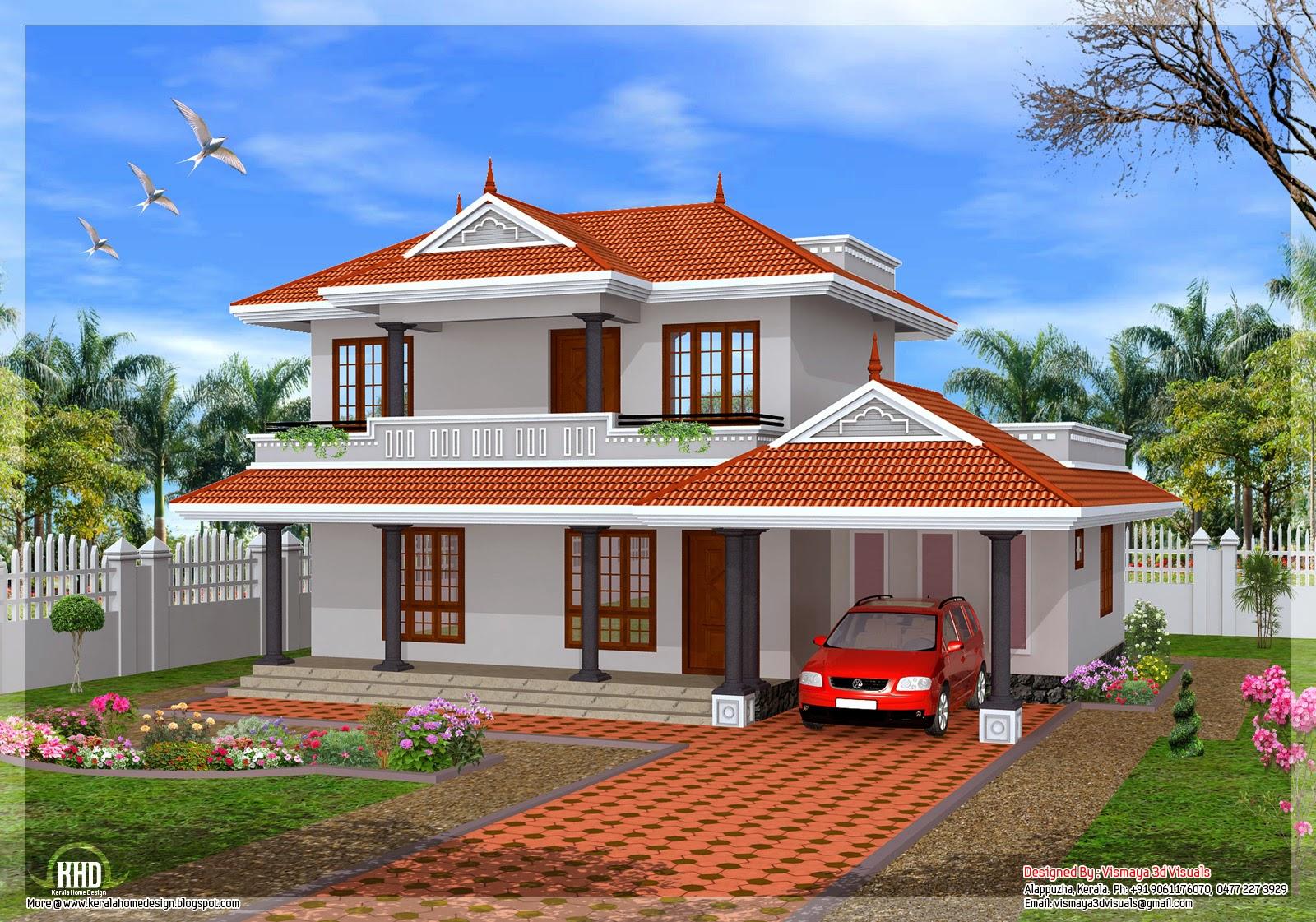 Ramani na muonekano wa nyumba nzuri na ya kisasa zaidi for Kerala house images gallery