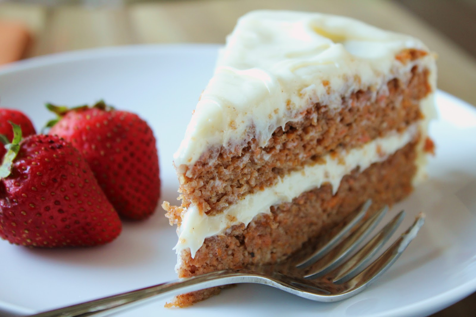 Delicious as it Looks: Anniversary Carrot Cake