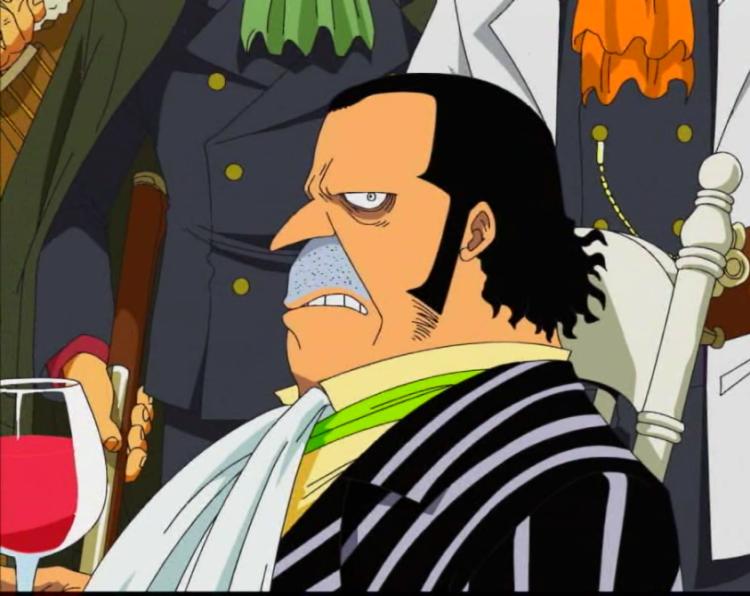 Pemimpin Bajak Laut Firetank di Manga One Piece