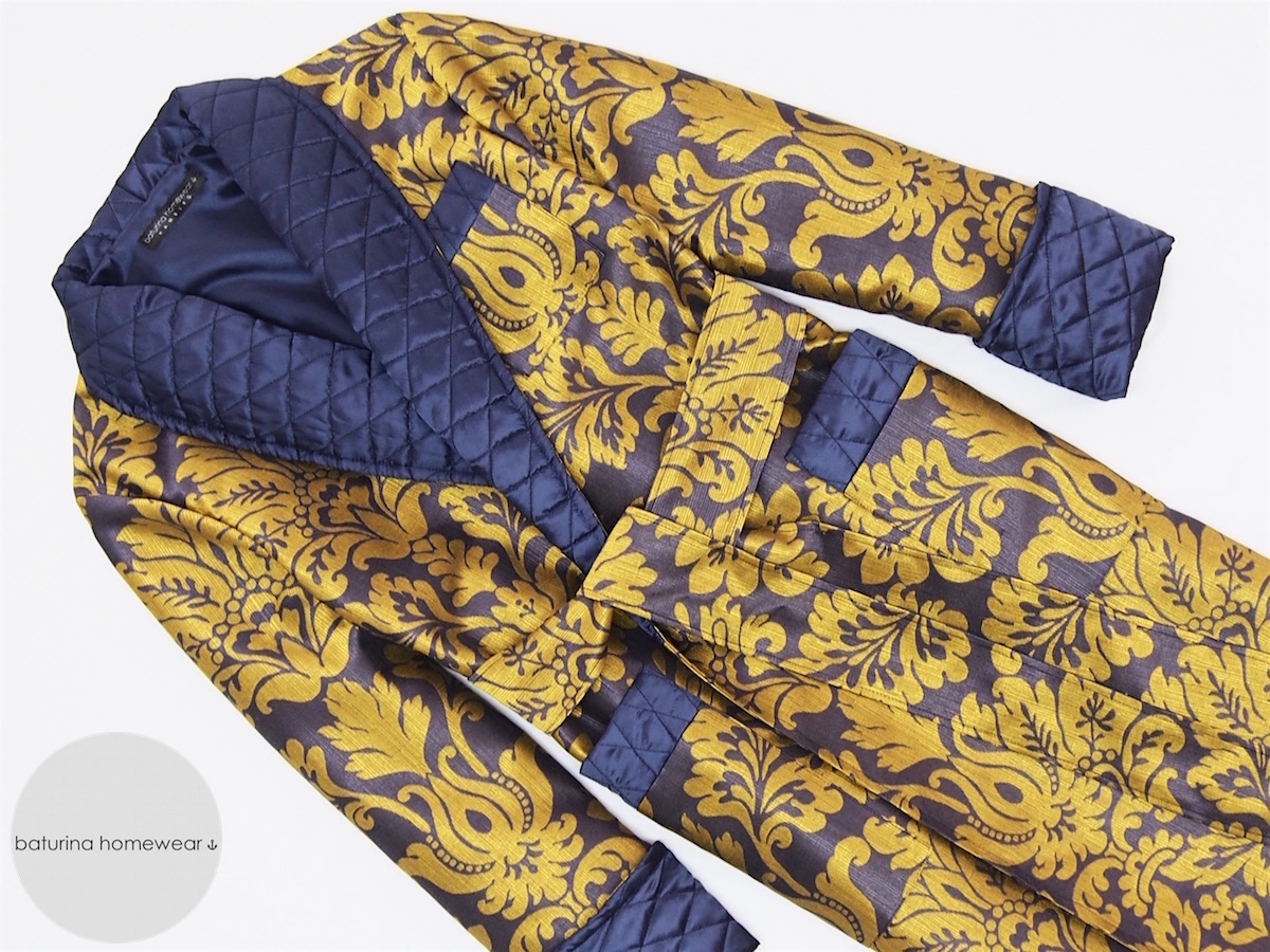 Men\'s Paisley Silk Dressing Gowns and Smoking Jackets