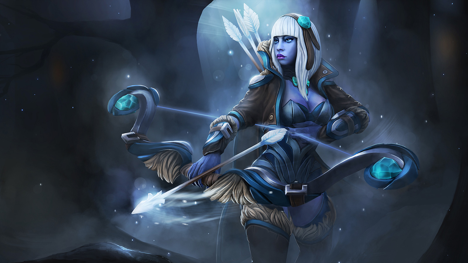 Drow Ranger S Mania S Mask Immortal: 20+ Drow Ranger Pictures And Ideas On STEM Education Caucus
