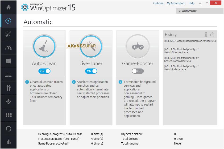 Download Ashampoo WinOptimizer Plus Registration Code, Ashampoo WinOptimizer Activation Code