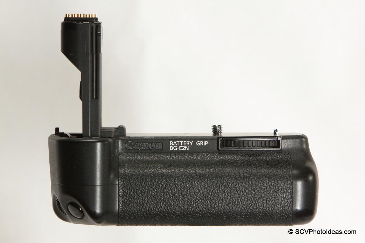 Canon BG-E2N Battery Grip front