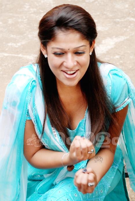 Indian Actress South Indian Actress Nayantara Hot Boobs -5484
