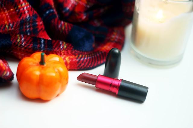 mac viva glam 3 lipstick matte lipstick autumn lips fall