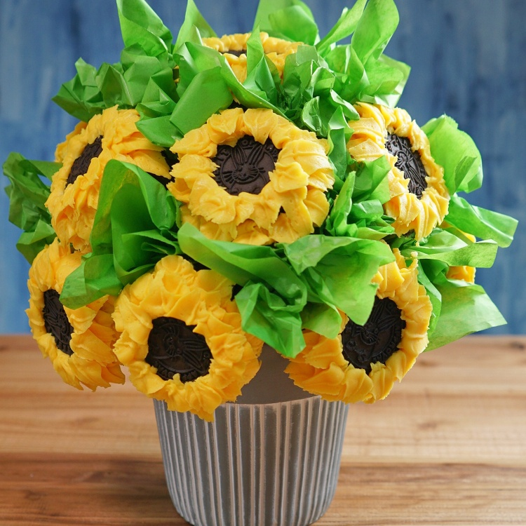 Sunflower Cupcake Bouquet For All Your Celebrations How To Video