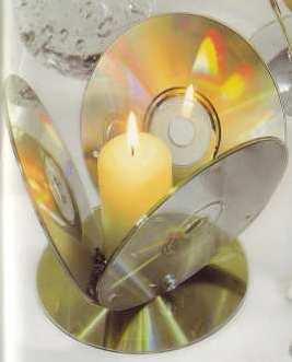 Porta vela cd