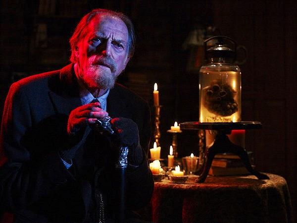 David Bradley as Jewish Holocaust survivor and pawn shop owner Abraham Setrakian in The Strain Season 1 Episode 1 Night Zero