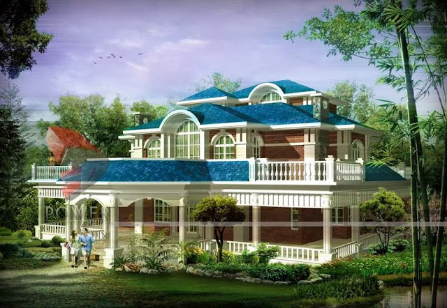 Indian House Design Plans/ Mansion House