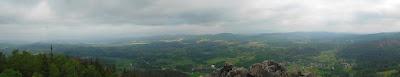 Panorama z Sokolika na północ.