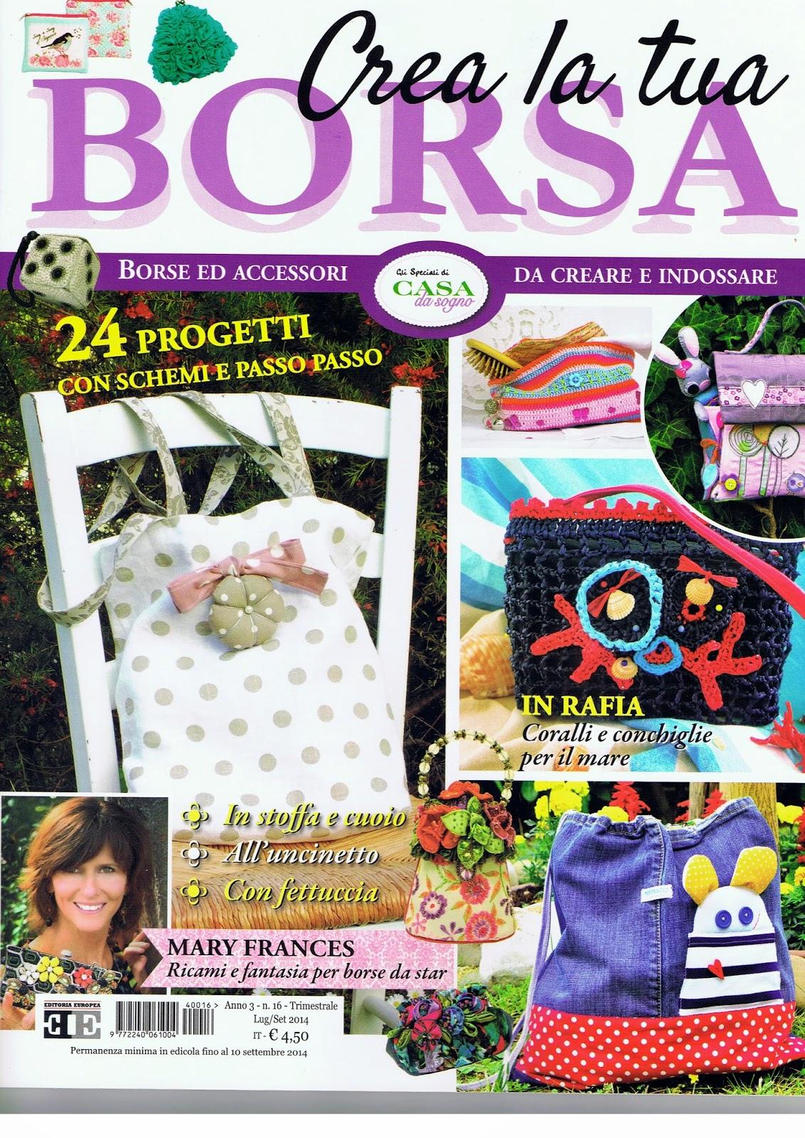 Alex the pink house borsa double face diy e - Crea la tua casa ...