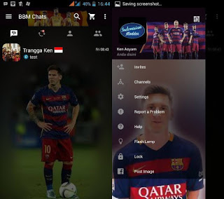 BBM Mod Messi