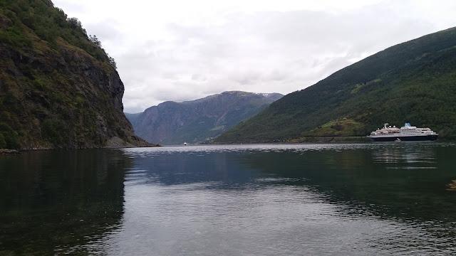 Aurlandsfjord Flam Fiordo