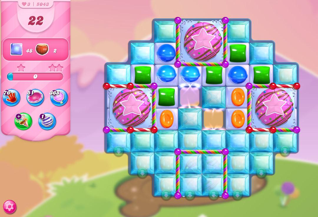 Candy Crush Saga level 5043