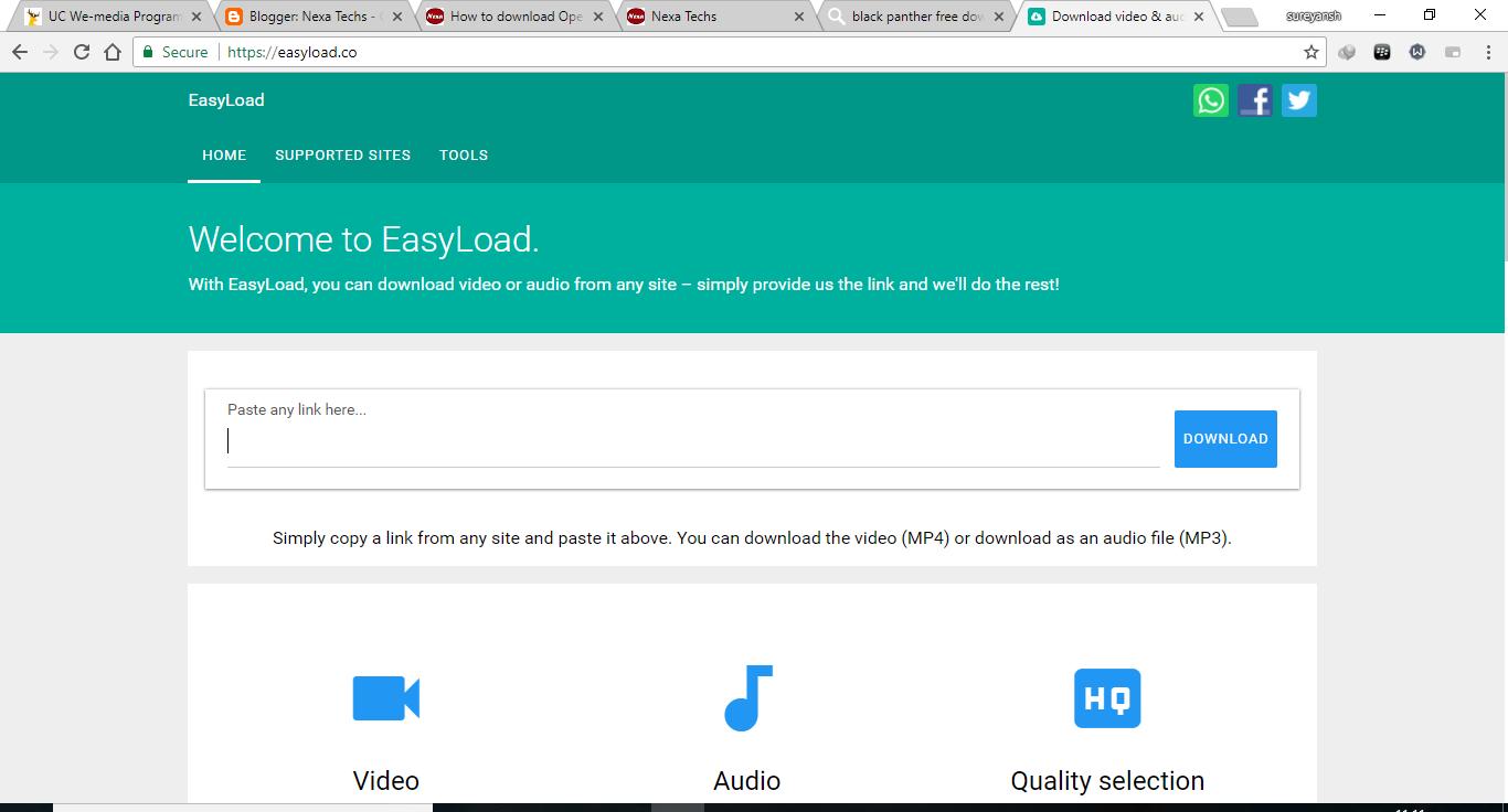 Openload Video Download