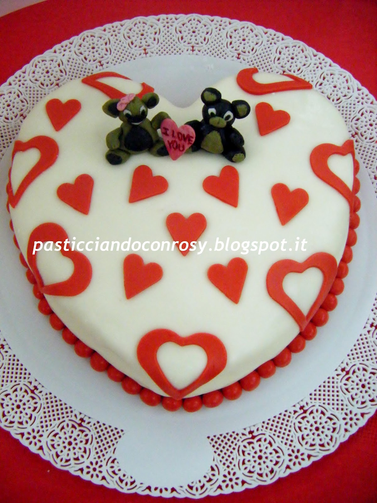 Favoloso Torta 10° anniversario - Pasticciando con Rosy EU82