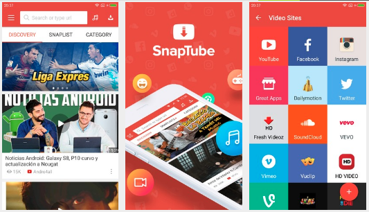 Download Snaptube Apk Mod VIP Tanpa Iklan For android 2018