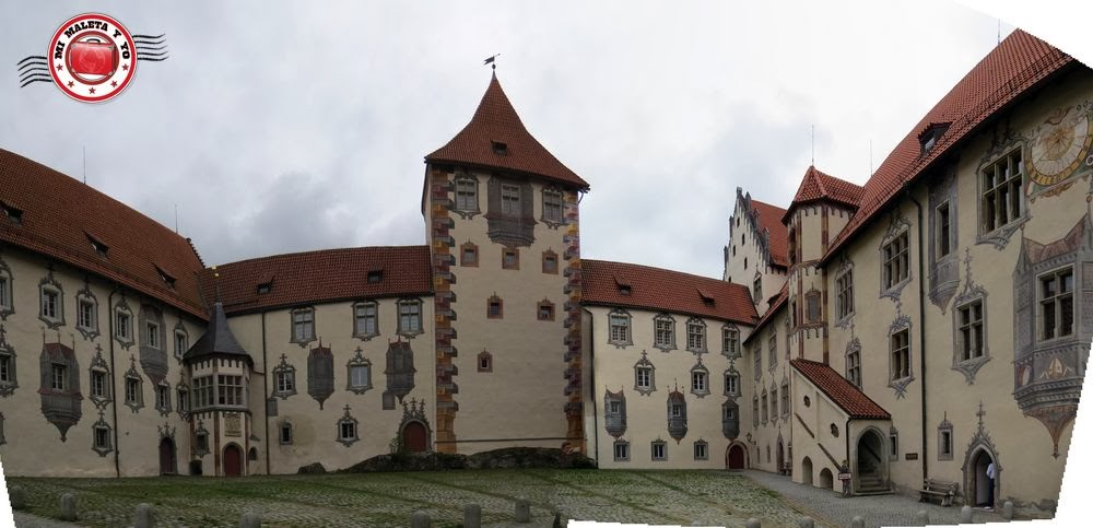 Füssen, Baviera (interior del castillo)
