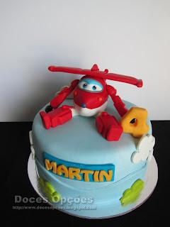 O Jett dos Super Wings no 4º aniversário do Martin