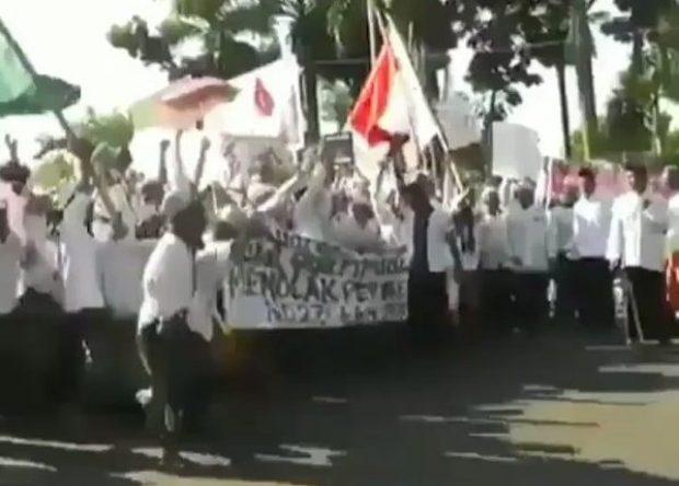 """Koordinator Demo Tolak FDS Sebut Video Teriakan """"Bunuh Menteri"""" Hoax"""