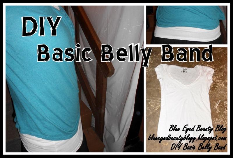 Blue Eyed Beauty Blog Diy Basic Belly Band