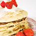 Aardbeien en Granola Pannenkoekjes
