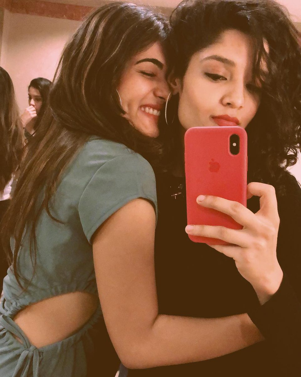 Image result for ritika singh and shalini pandey