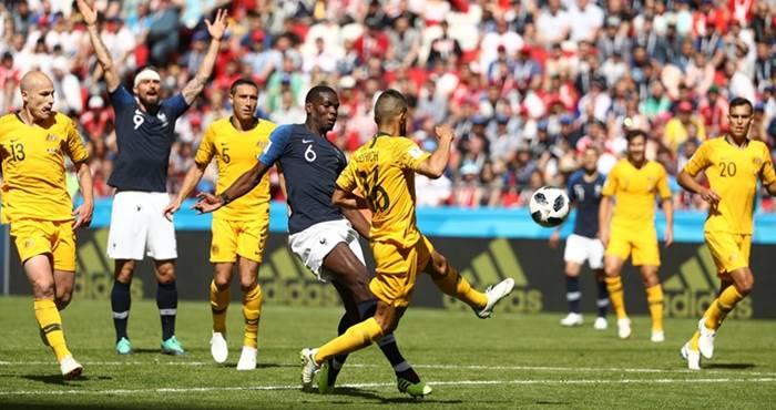 Prancis vs Australia - Piala Dunia 2018