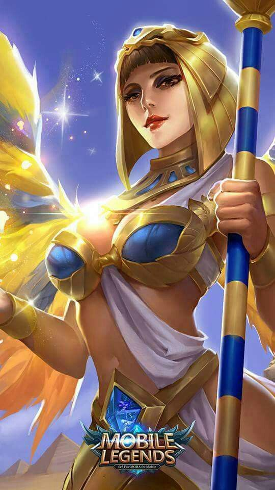 wallpaper hero Rafaela mobile legends