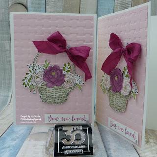 Blossoming Basket Bundle Sale-a-Bration Free item card