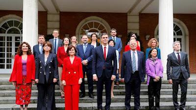 Los presuntos beneficiarios de la España Indefensa (Foto de Internet)