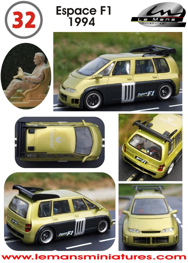 Slot Car News: LeMans Miniatures Renault    VAN!!!