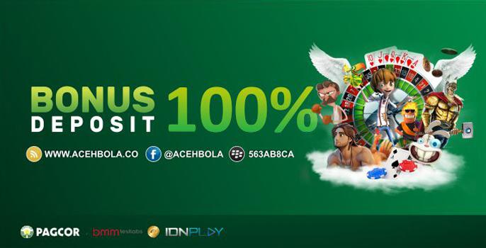 Bonus Deposit 100% NEW MEMBER