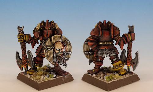 Mighty Zog Arkwright, CH2 Chaos Warriors, Citadel (1987, sculpted by Naismith, A. Morrison or Goodwin)
