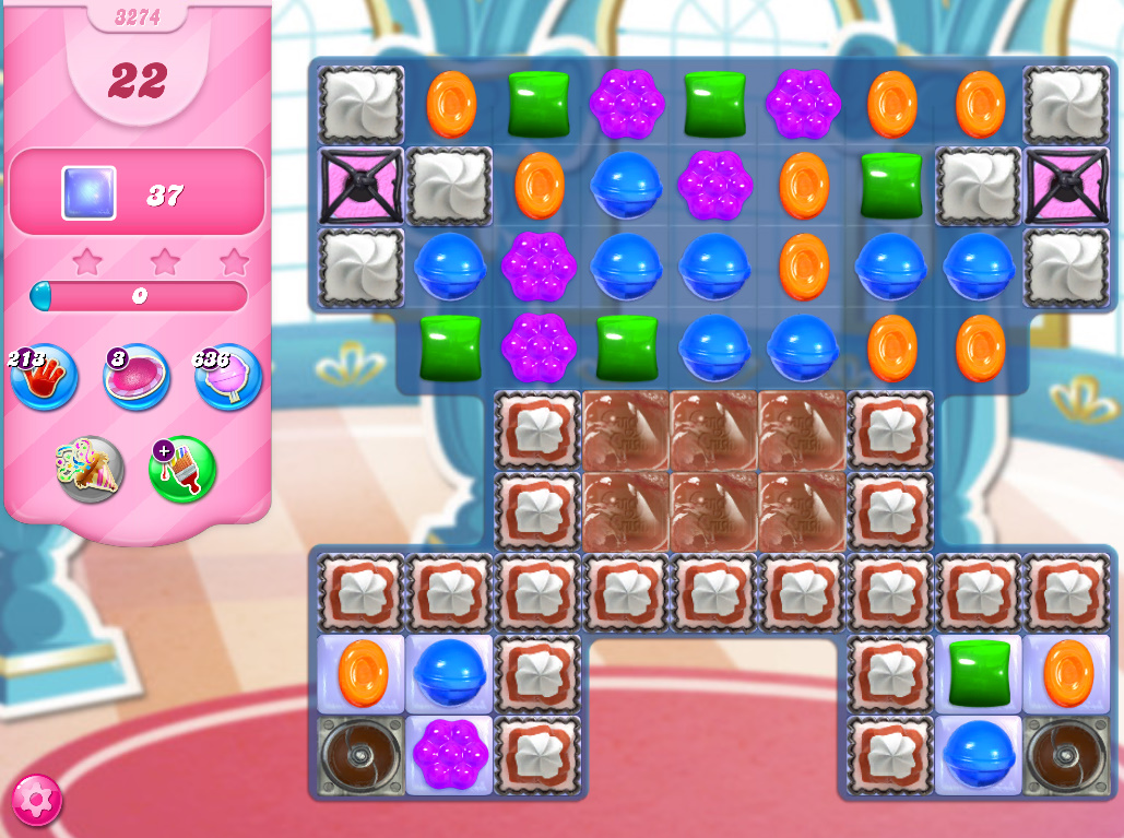 Candy Crush Saga level 3274