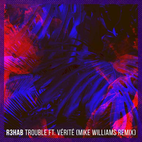 R3hab - Trouble (feat. VÉRITÉ) [Mike Williams Remix] - Single Cover