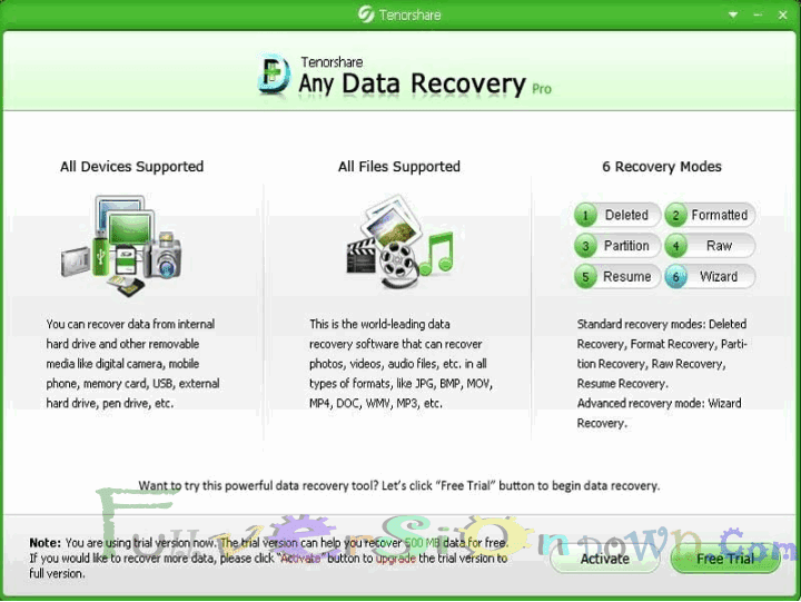 Tenorshare Any Data Recovery Professional Full