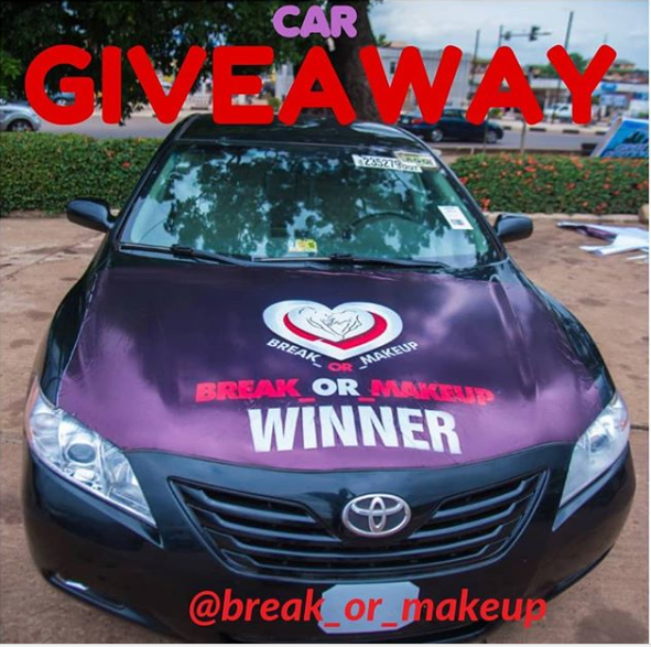 How To Win A Car >> How To Win This Car On Break Or Make Up