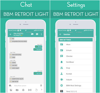 BBM Mod Retroit v3.2.5.12 APK Updated