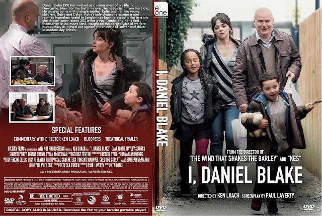I, Daniel Blake DVD Cover