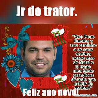 MENSAGEM DO VEREADOR JÚNIOR DO TRATOR