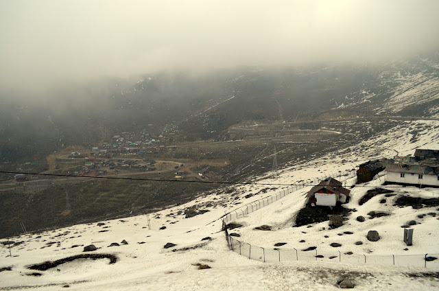Fast Changing Mountain Weather, East Sikkim